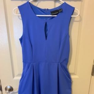 Cynthia Rowley Dress-Periwinkle with Pockets